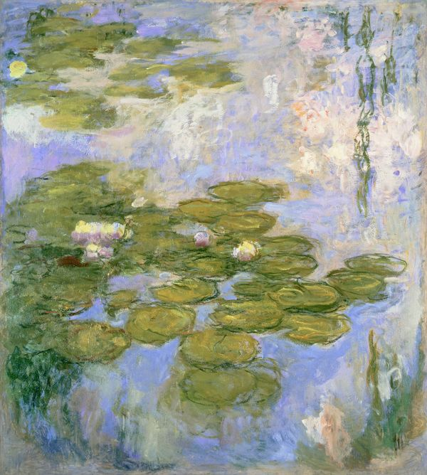 Claude Monet, Nymphéas, 1916 – 1919